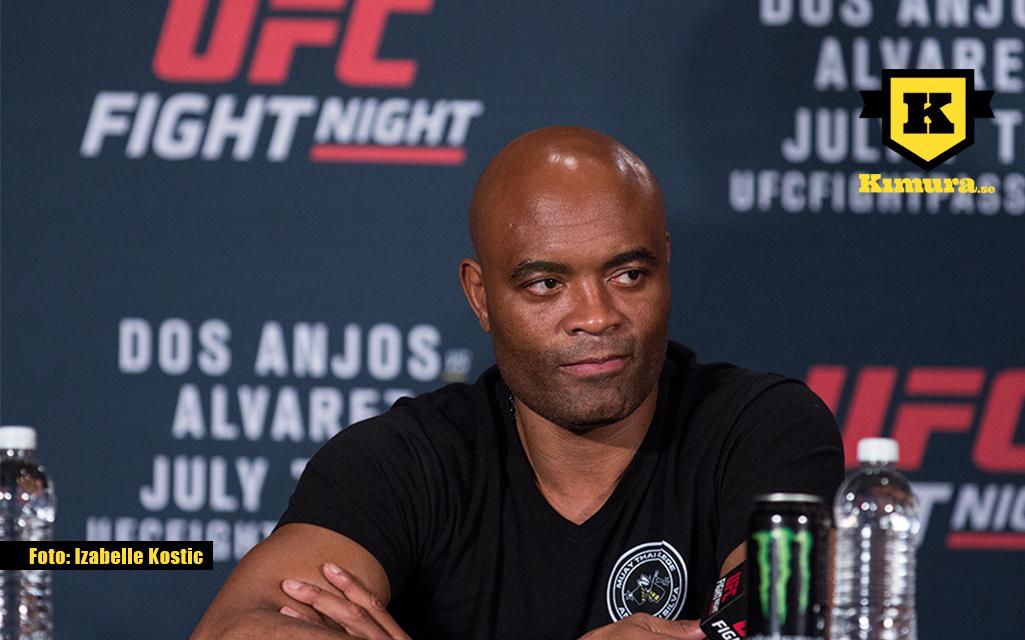 """Anderson Silva vädrar sin besvikelse över UFC: """"Jag fick inte ens ett tack"""""""