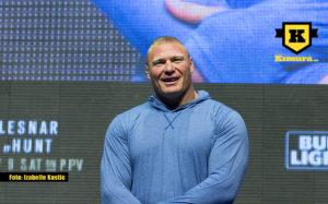 Brock Lesnar glad