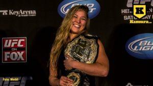 Ronda Rousey glad
