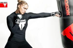 Ronda Rousey throwdown
