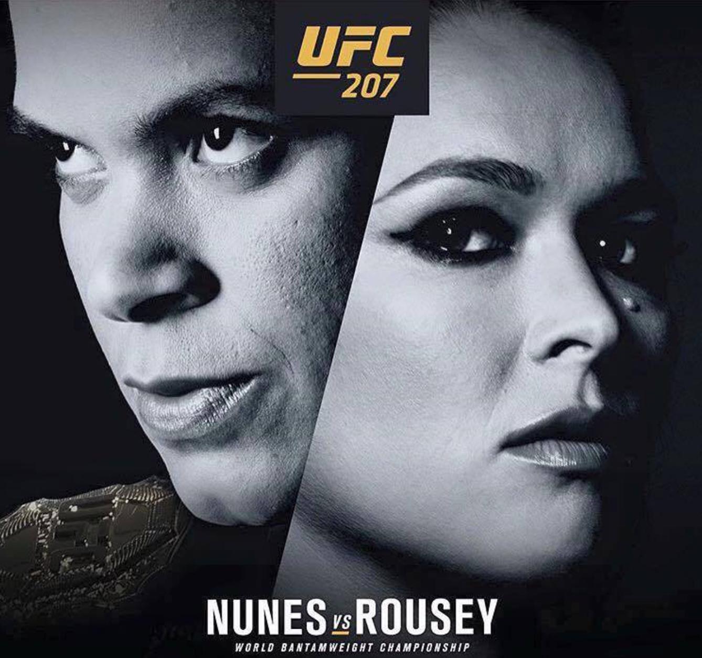 Ronda Rousey möter Amanda Nunes i år på UFC 207