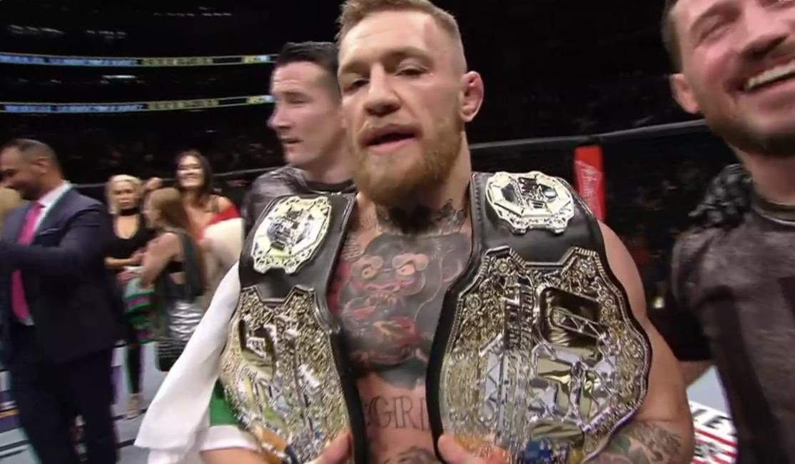 Conor McGregor vill inte försvara sitt lättviktsbälte mot Khabib Nurmagomedov