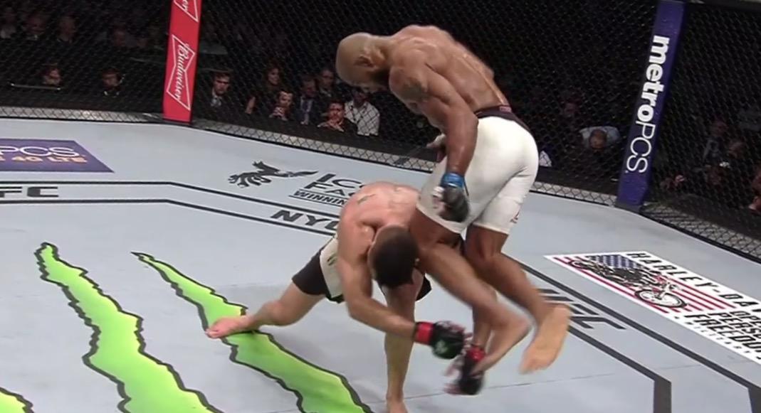 Resultat och händelser från nattens UFC 205