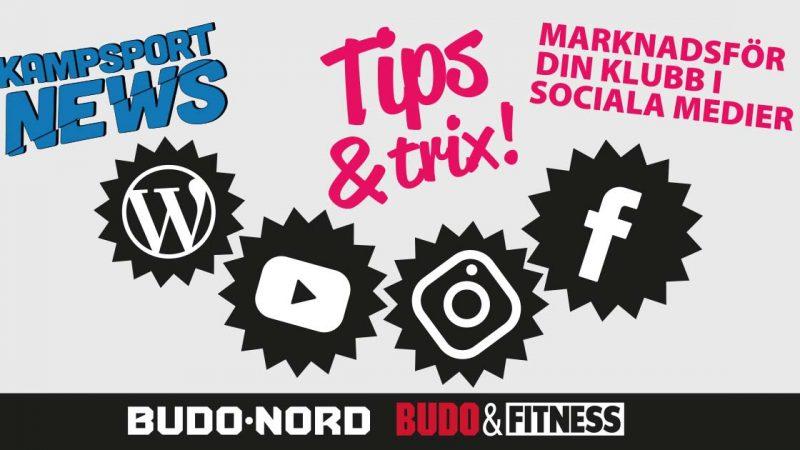 Marknadsför din klubb i sociala medier!